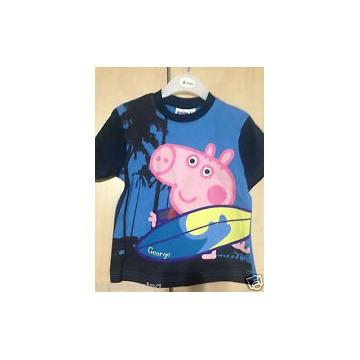 T-SHIRT PEPPA PIG TAGLIE 2-3-4-5-6 ANNI 15 PEZZI ASSORTITE