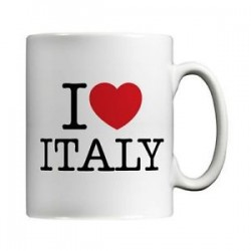 TAZZA IN CERAMICA I LOVE ITALIA