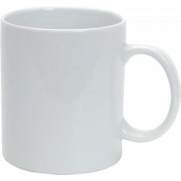 Tazza mug neutra DA PERSONALLIZARE cm 8x10 per stampa laser