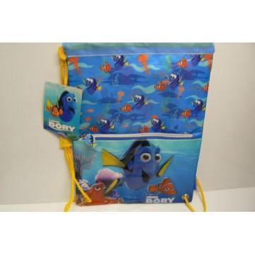 zainetto dory sacca 35cm blue sea cm 25x36