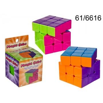 Cubo magico, ca. 5,5 cm,  in confezione da appendere Non è un cubo Rubic's originale EAN 4029811365470