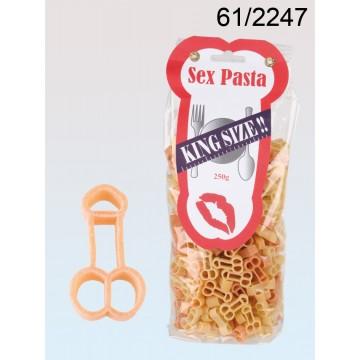 Pasta di grano duro bicolore conpaprica, Pisello, 250 g/pacco con header card