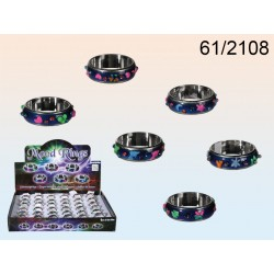 anelli dell'umore Styles, 4 misure, 6 ass., 36 pz su display