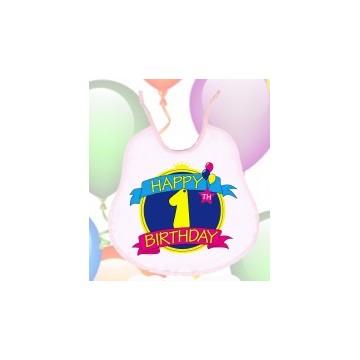 Bavaglino compleanno 1 anno