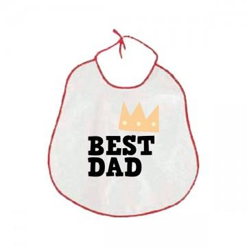 Bavaglione 40x38cm Best Dad