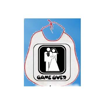 Bavaglione sposi Game Over