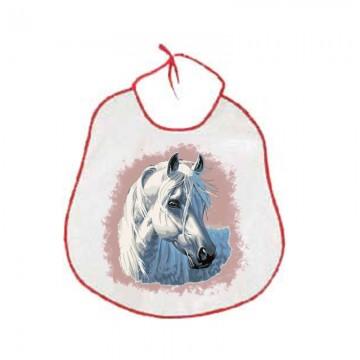 Bavaglioni bambini animale cavallo