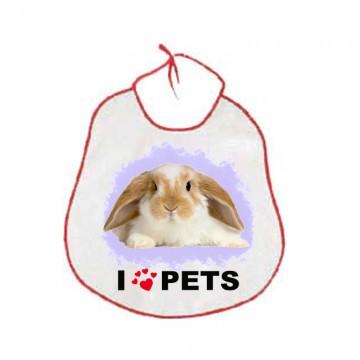 Bavaglioni bambini animale coniglio