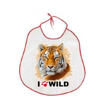 Bavaglioni bambini animale tigre