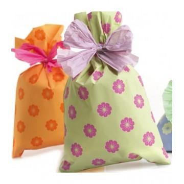 blister 3 sacchetti buste regalo fantasia assortita  cm 25x40