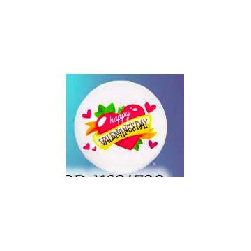 Calamità rotonda personalizzata con scritta ( Happy valentines day)