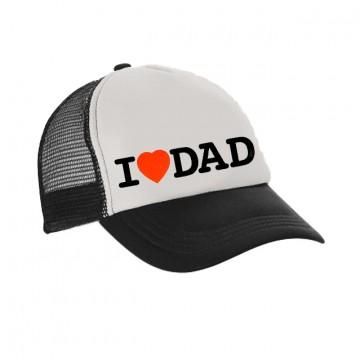 Cappellini con visiera  I love Dad