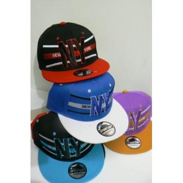 Cappellini rap new york colori assortiti pezzi 12