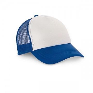 cappellino in poliestere con frontino stampabile a sublimazione