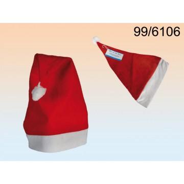 Cappello di Natale, Santa Claus, 100% feltro, da appendereMINIMO 72 PEZZIEAN 4029811263882