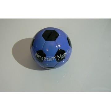 salvadanaio ceramica pallone nerazzurro cm.13