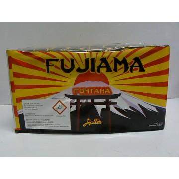 Fontana fujiama con effetti di luce e finale scoppiettante cm 23x12,5