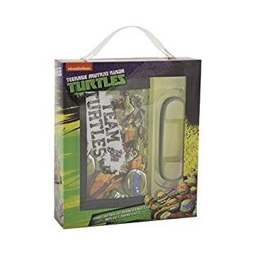 gift kids portafoglio+bracciale turtles