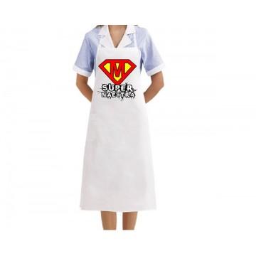 grembiule cucina super maestra
