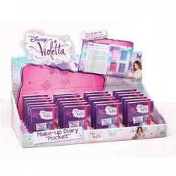 MINI DIARIO VIOLETTA MAKE UP DISPLAY PEZZI 24