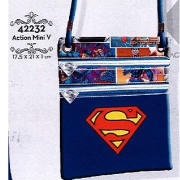 Mini tracolla Superman 17,5x21x1 cm