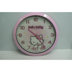 orologio muro hello kitty glitter