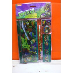 SET 5 PZ CANCELLERIA TURTLES EAN  8422535831263