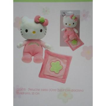 peluche hk baby con giochino quadrato 15cm