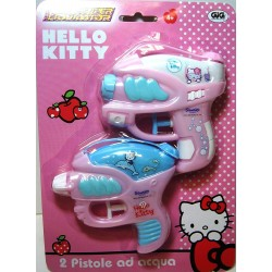 PISTOLE AD ACQUA HELLO KITTY  X2