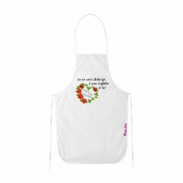 grembiule cucina scritta se so cos'e l'amore e grazie a te san valentino regalo