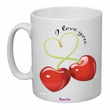 tazza mug 8x10 scritta i love you ciliege idea regalo san valentino amore cuore
