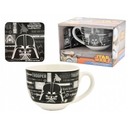 set regalo tazza jumbo+ acc. star wars