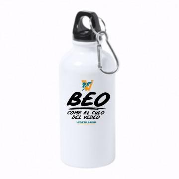 borraccia bottiglia alluminio 500 ml veneto radio beo come al culo del vedeo
